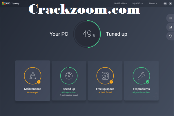 AVG PC TuneUp 2021 Crack With Product Key Free Download {2021}