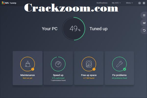 AVG PC TuneUp 2020 Crack + Keygen Full Free Download{2020}