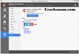CCleaner Pro 5.64.7632 Crack + License Key 2020 {Lifetime}