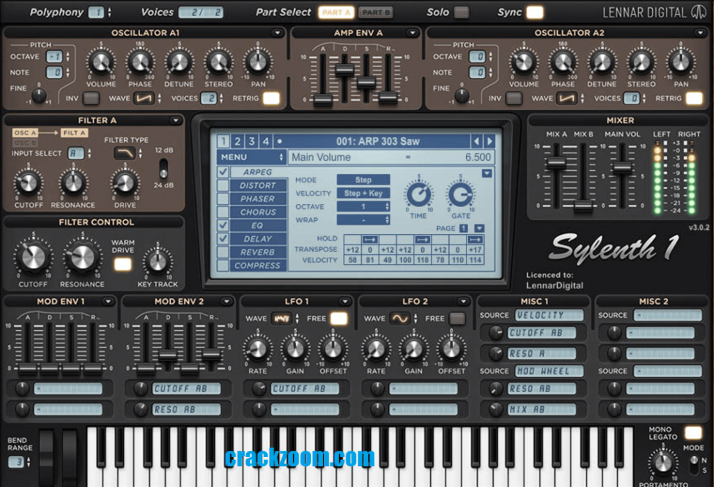 Sylenth1 Crack 3.070 License Code & Keygen {Torrent} Download 2020