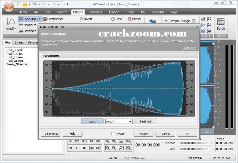 AVS Audio Editor 9.1.3.541 Crack + License Keygen {Latest Version}