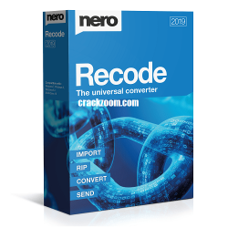 Nero Recode 2020 Crack License Key Free Full Download [Latest]