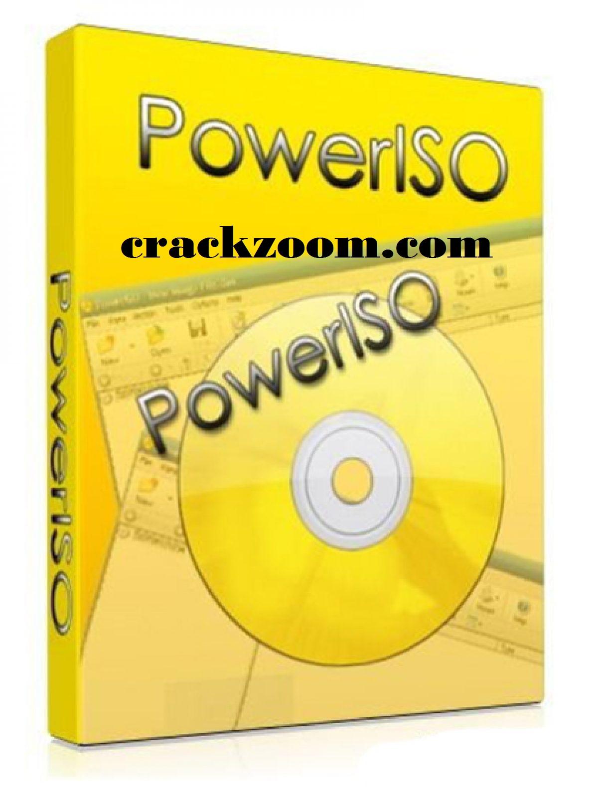 PowerISO 7.6 Crack + Registration Code 2020 {32/64 Bit} Latest