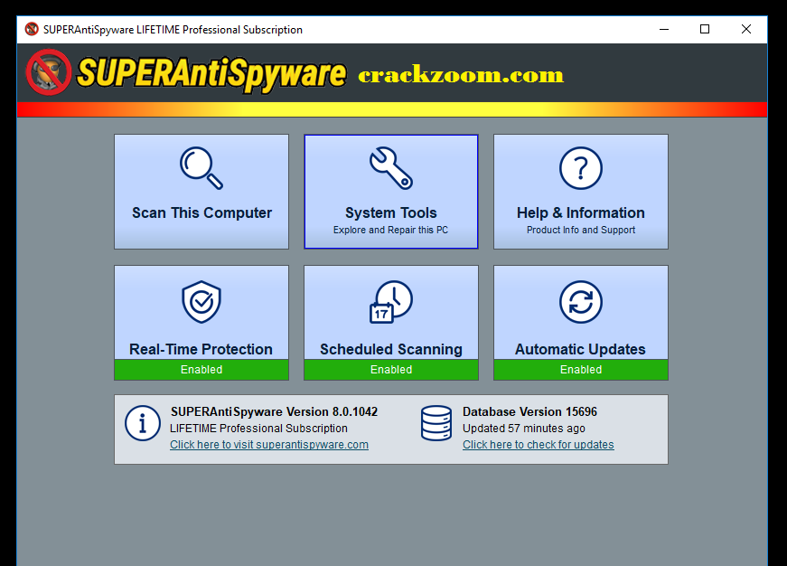 SuperAntiSpyware 10.0.1216 Crack With License Key {2021}