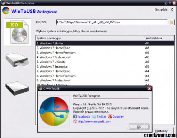 WinToUSB Enterprise 5.1 Crack With Keygen Free Download [Portable]