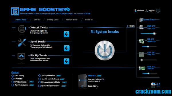 EZ Game Booster Pro 1.6.3 + Crack Free Download 2020 {Latest}
