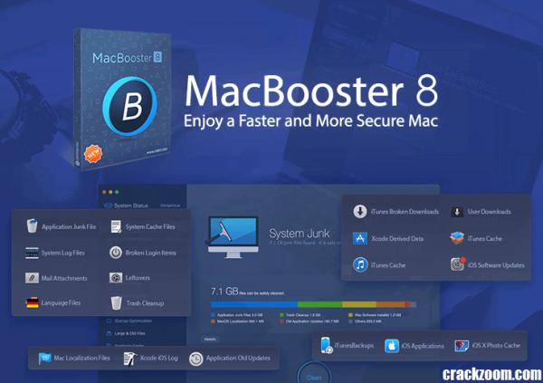 MacBooster 8.0.2 Crack + License Key Full Free Download {Updated} 2020