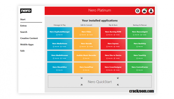 Nero Platinum 2020 Crack + Serial Key Full Free Download {Latest}