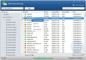 Wise Data Recovery 5.1.5 Crack + Serial Key Download [Latest]