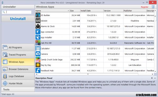 Revo Uninstaller Pro 4.3.0 Crack + License Key Free Download 2020