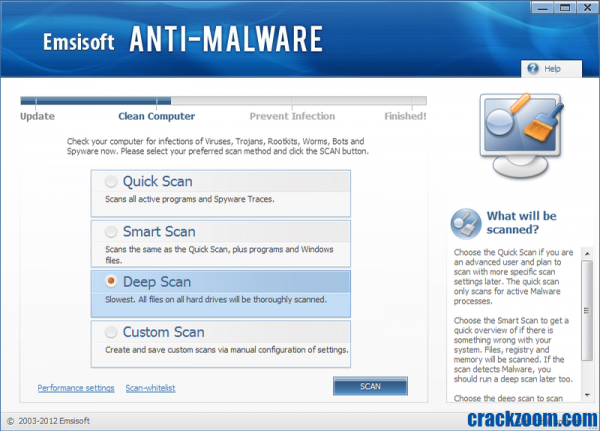 Emsisoft Anti-Malware 2020.11.0.10501 Key + Crack Free Download
