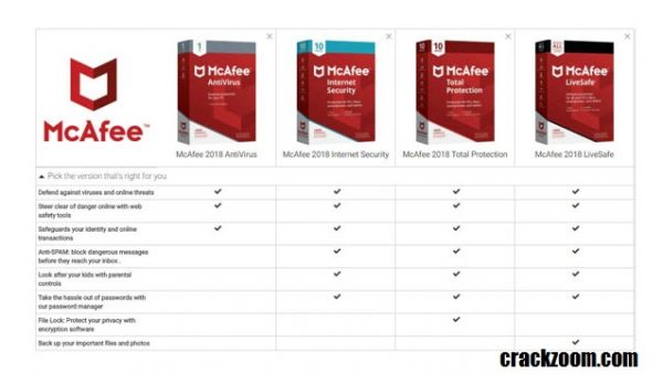 McAfee LiveSafe Crack + Activation Key Free Download 2020