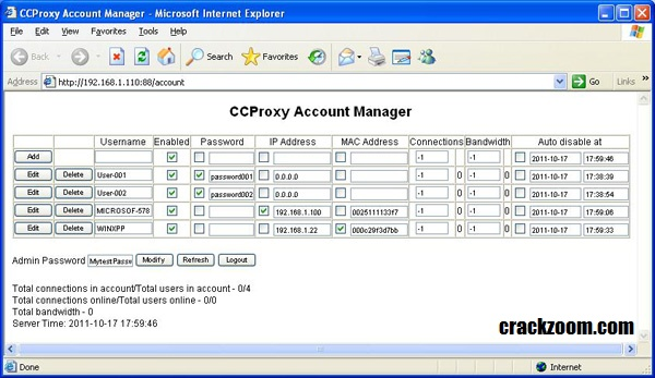 CCProxy 8.0 Full Crack With Serial Key {Latest Version} 2020