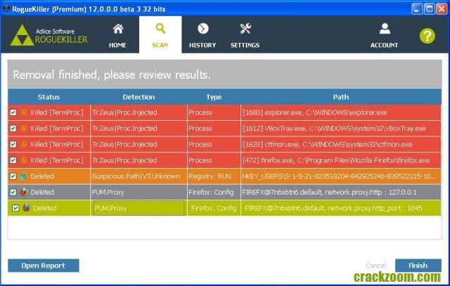 RogueKiller 14.4.1.0 Crack + Serial Key Free Download 2020 [Latest]